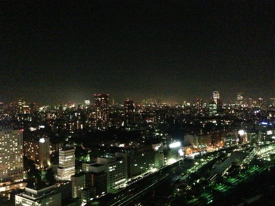 The Strings by InterContinental Tokyo:                   View over the city