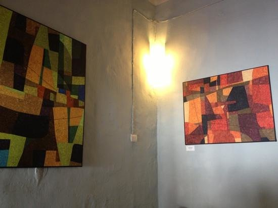 Manjar blanco :                                     arty walls