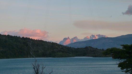 Sunrise from Yurt (Patagonia Camp)