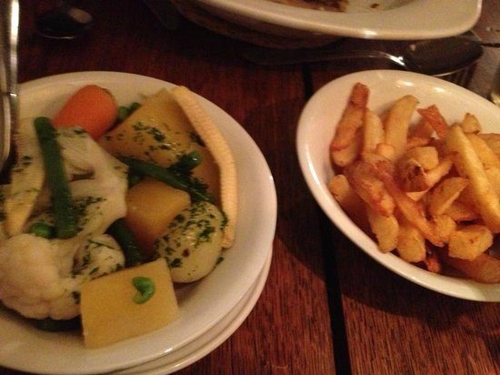 Ty Gwyn Hotel: sides (not that you need them!)