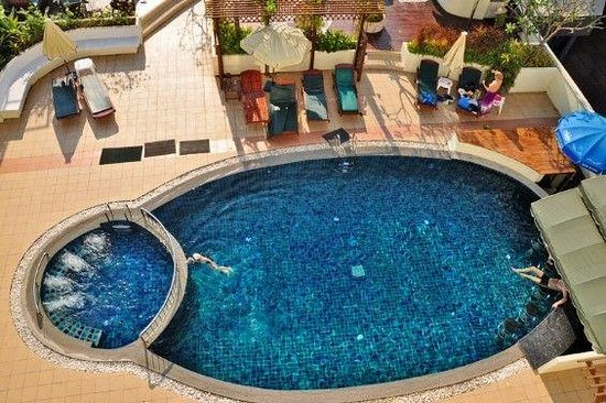 Tanawit Condotel:                   Den nye pool