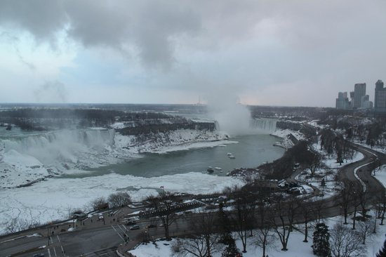 Sheraton on the Falls:                   View from our room... 18 floor...