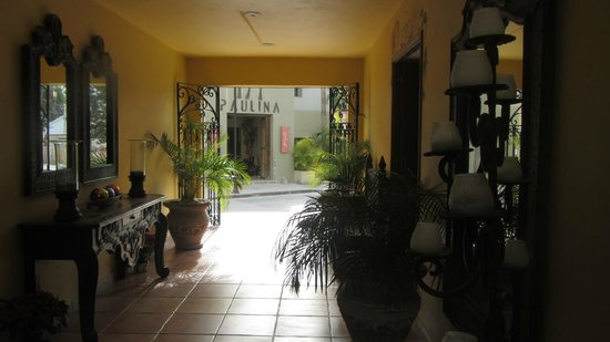 El Encanto Inn & Suites Boutique Hotel:                   reception area