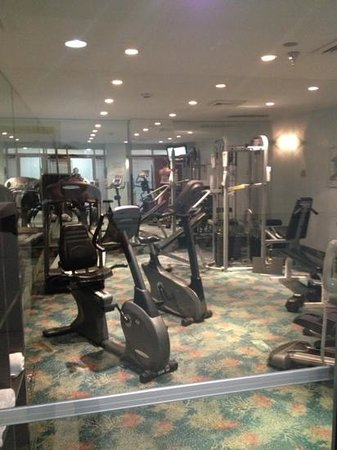 Best Western Plus Atlantic Beach Resort: the gym!