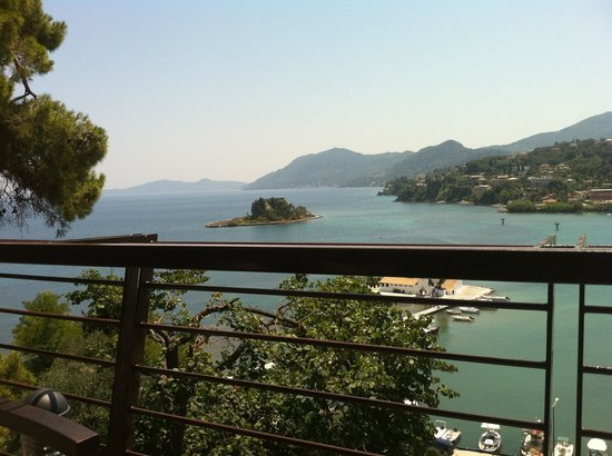 Corfu Holiday Palace:                   View from Starbucks