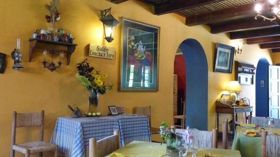 Tesoros de Chile Restaurant:                   Concha y Toro Room (Tesoros de Chile)