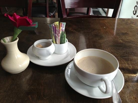 Sante Restaurant & Charcuterie :                   café au lait