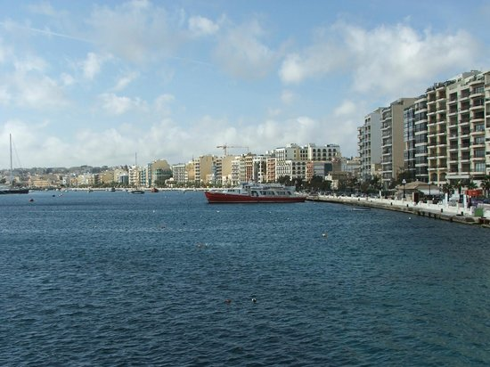 115 The Strand Hotel and Suites:                   View of Gzira from the ferry