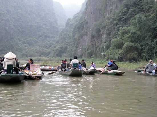 Yen Nhi Hotel: Promenade sur la rivière