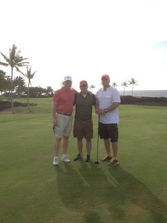 Waikoloa Beach Golf Course: Golfing with the Family in Paradise! Doesn't get any better!