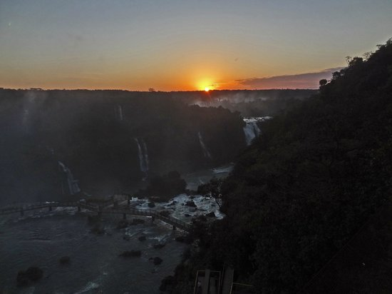 iguazu falls sunset - photo #26