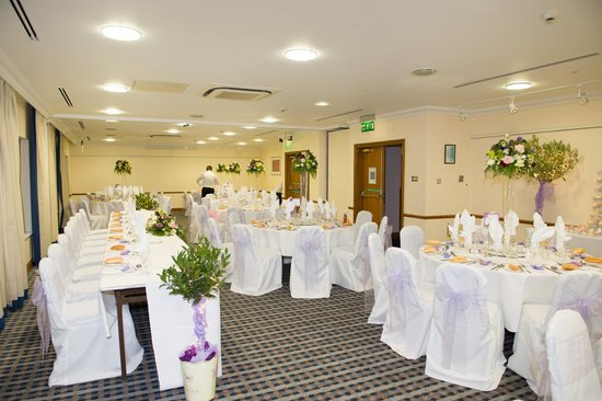 Holiday Inn Colchester :                   The room for the wedding breakfast