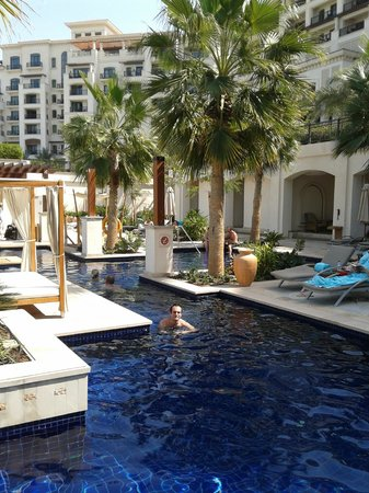 The St. Regis Saadiyat Island Resort, Abu Dhabi:                   adult pool