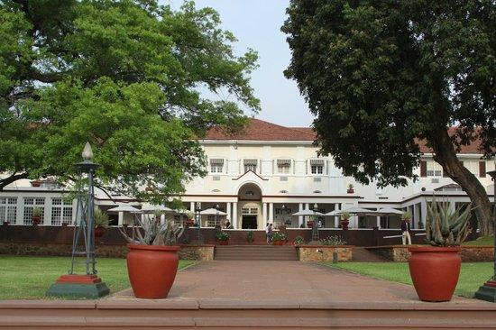 The Victoria Falls Hotel: The Hotel