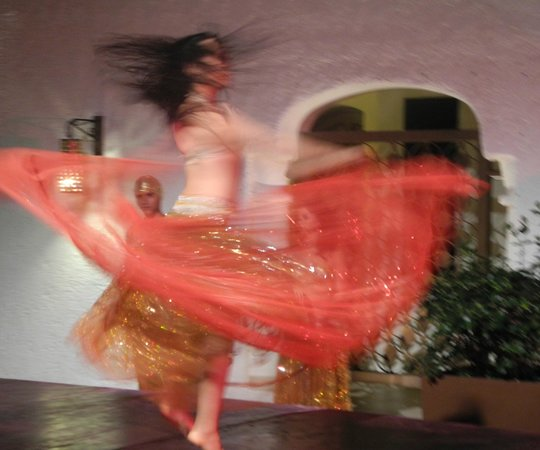 GR Caribe by Solaris:                   1001 Nights show in the Courtyard
