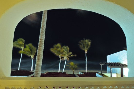 GR Caribe by Solaris:                   Night view from our balcony