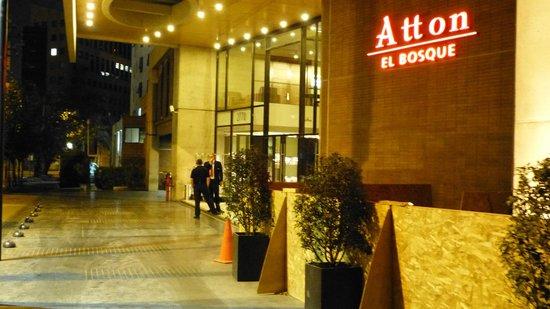 Atton Hotel El Bosque:                   Entrance (Hotel Atton El Bosque)