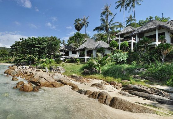 Lamai Bay View Resort:                   We loved the pale sand and 'smooth' granite rock formations