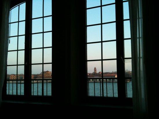 Hilton Molino Stucky Venice Hotel:                   Una finestra sulla laguna