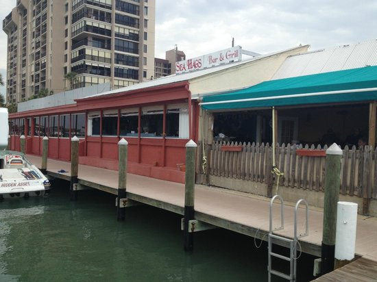 Sea Hag's Bar and Grill: Sea Hags - water view