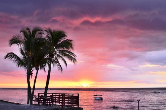 Le Meridien Ile Maurice: Another great sunset