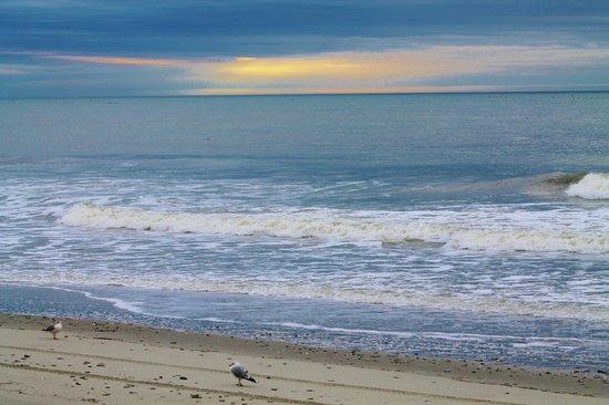 Sandy Beach Resort:                   Sunrise from the balcony