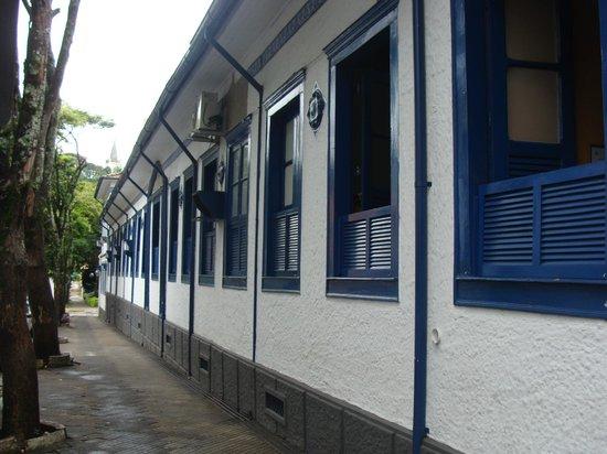 Hotel Caxambu:                   Fachada hotel