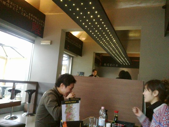 Sushi Mania:                                     Interno
