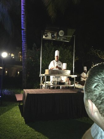 Taj Exotica Goa:                   Cooking Demonstration