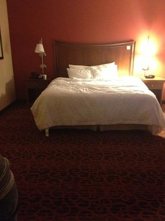 Hampton Inn & Suites Pittsburgh-Meadow Lands:                   the most comfortable bed