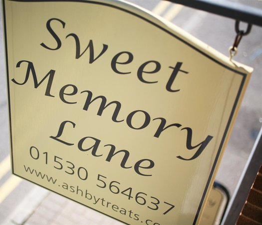 Ashby-de-la-Zouch, UK: Sweet Memory Lane