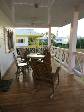 Hermosa Surf Vacations:                   our deck