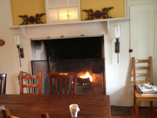 Ash Mill Farm Bed and Breakfast:                   Who wouldn't want to have their coffee and French Toast in front of that beaut