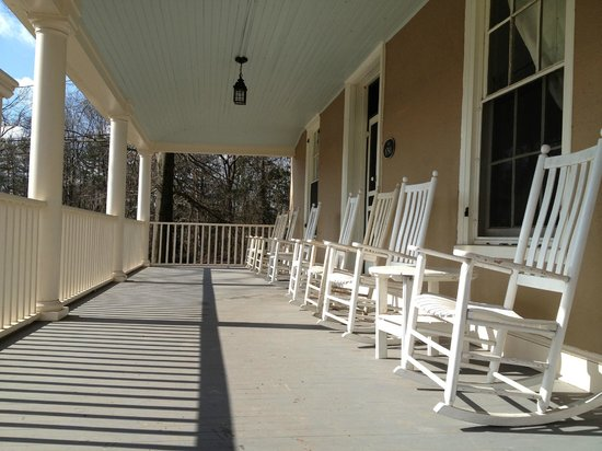 Ash Mill Farm Bed and Breakfast:                   Gorgeous porch!