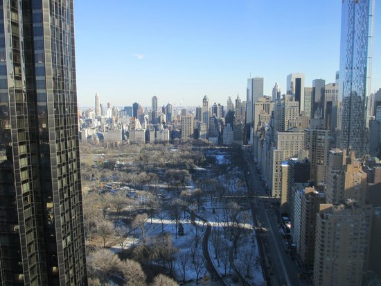 Mandarin Oriental, New York : view of Central Park from our window