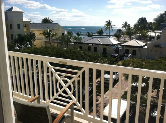 """Southernmost Beach Resort:                   View from a """"distant ocean view"""" room.  Beautiful!"""