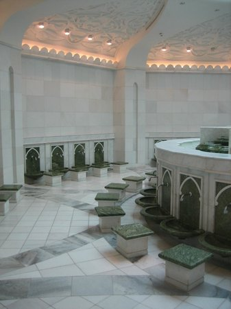 Sheikh  Zayed Mosque: bagni