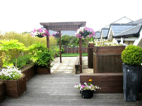 Newgrange Hotel: Roof Top Garden