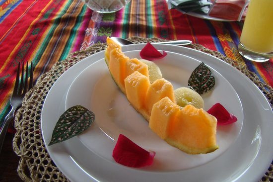 San Jorge Eco-Lodge & Botanical Reserve :                   Breakfast starter
