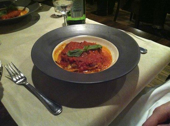 Bocca d'Oro:                   Lasagna