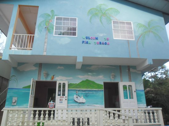 Fish Tobago Guesthouse: Welcom to Fish Tobago