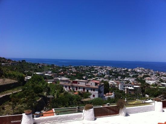 La Rosa Parco Residence:                   the view from the hotel residence