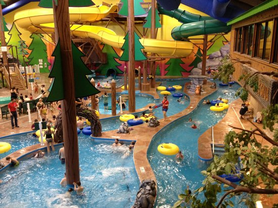 Holiday Inn Dundee - Waterpark:                   Rest of water park.. After hours