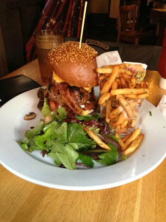 The Place:                   The Burger