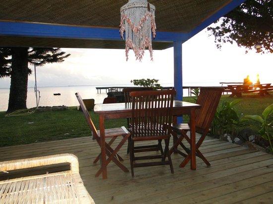 Linareva Moorea Beach Resort: terrasse beach suite 3