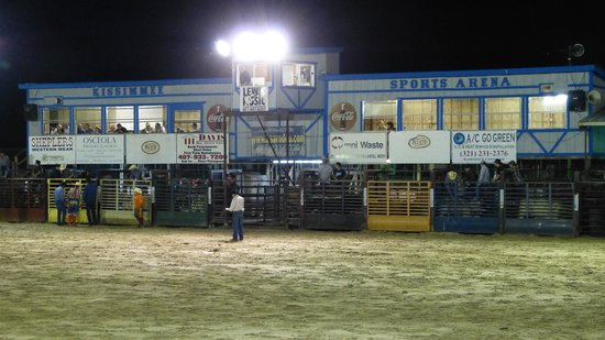 The Kissimmee Sports Arena Rodeo:                   The Rodeo Arena