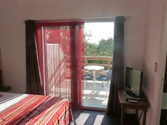 Carnac Lodge & Hotel : balcon bis