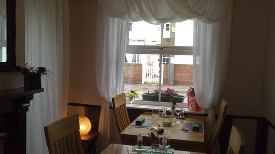 The Green Door:                   A lovely little snug area ideal for a  little party.