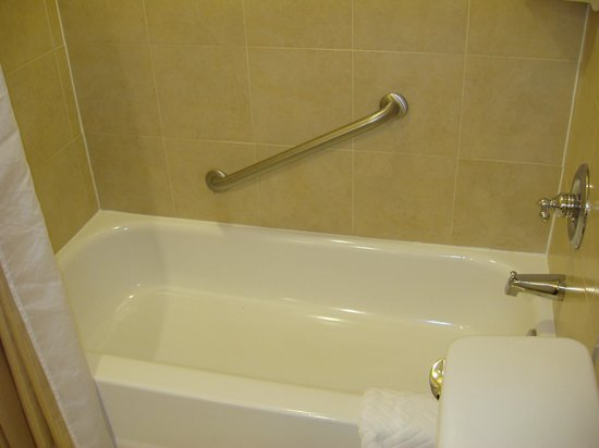 Hilton Arlington:                   Bathtub/Shower
