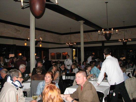 Interior Of Hank S Seafood Restaurant
